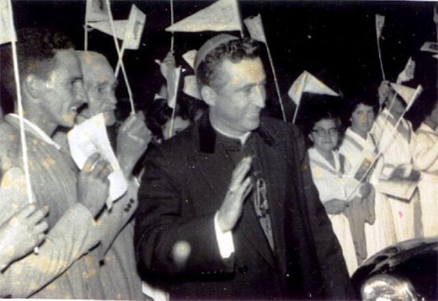 Dom José D'Ângelo Neto durante a elevação da Diocese a Arquidiocese, em 23 de setembro de 1962// Foto: Fuvs