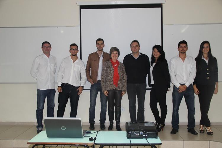Apresentação do projeto para a empresa Prática de Pouso Alegre. Foto: Divulgação FAI