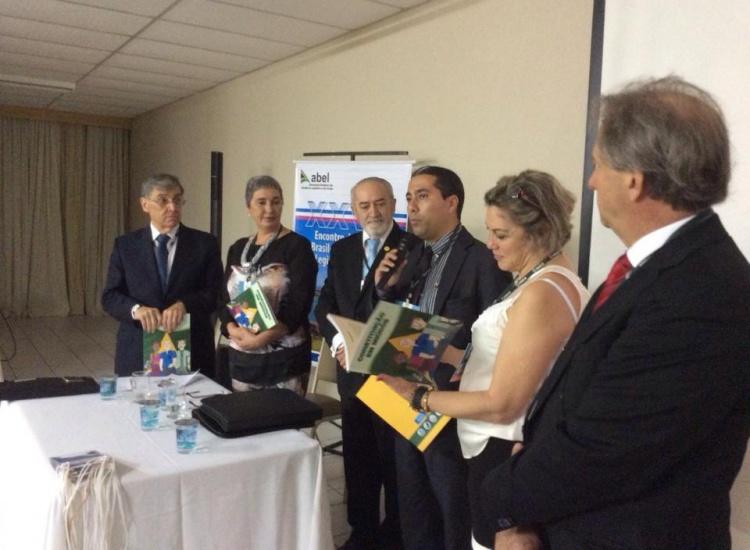 Presidente da Câmara discursa no lançamento do livro 'Constituição em Miúdos'