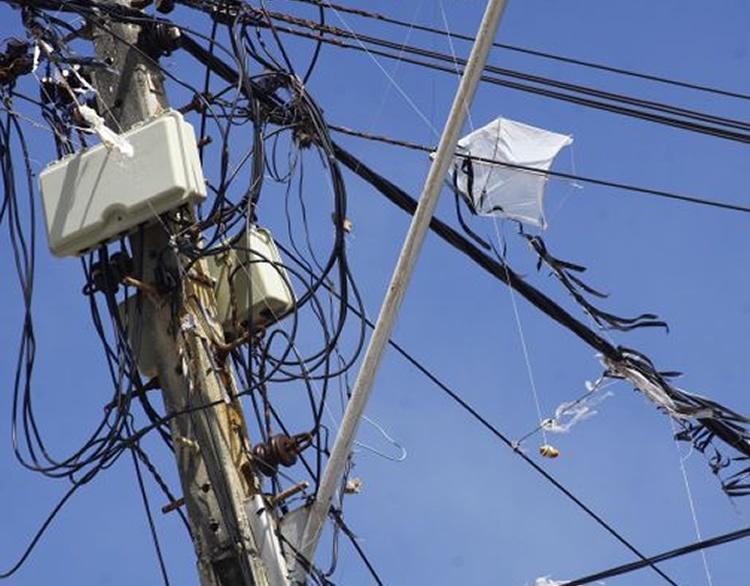 'Pipa' deixou moradores sem energia elétrica em Pouso Alegre