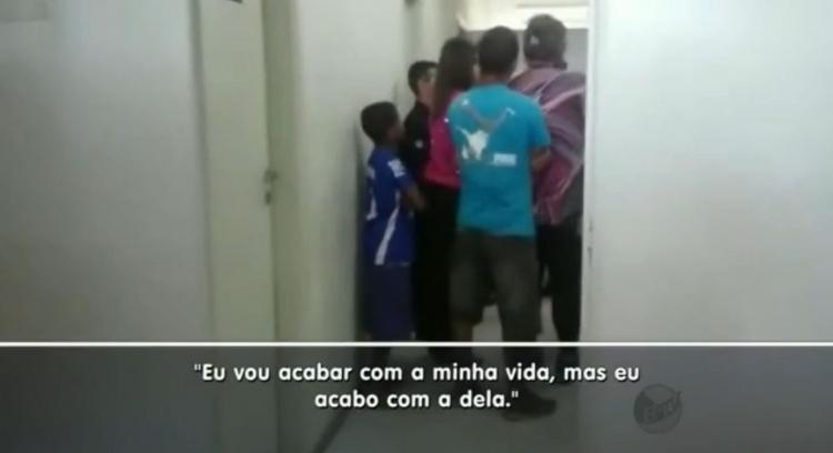 No vídeo é possivel ouvir mãe fazendo ameaça a médica. Reprodução EPTV