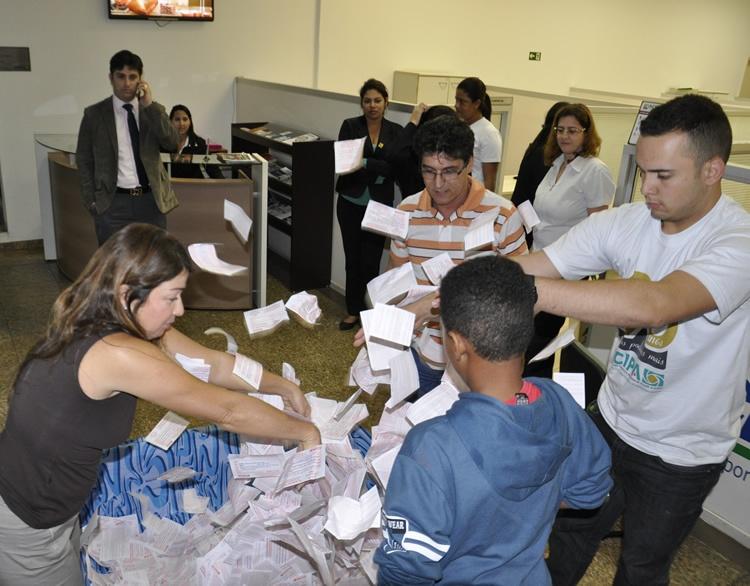 Sorteio aconteceu na tarde desta segunda-feira (16) na sede da Acipa. Foto: Divulgação