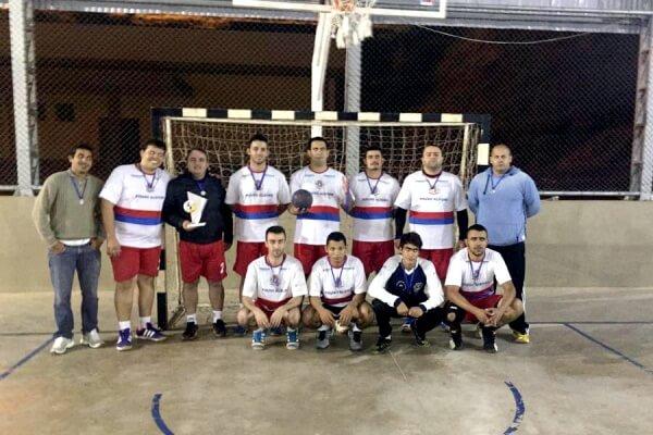Equipe adulta de Pouso Alegre. Foto: Reprodução Esporte Pouso Alegre