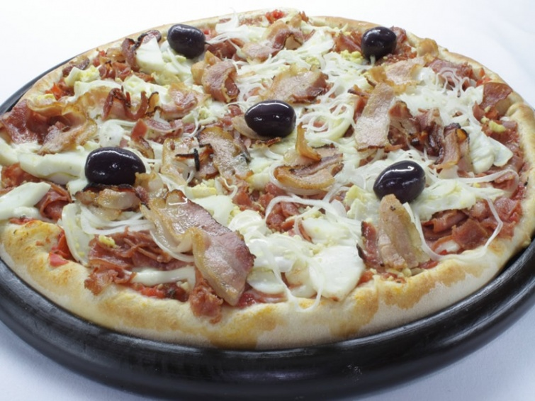 Pizza Rainha. Foto: Reprodução Site Restaurante Circuito das Aguás