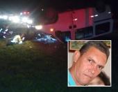 Esposa e a filha do motorista ficaram feridas e foram encaminhados ao Hospital das Clinicas.