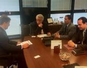 Reunião articulada pelo presidente da Câmara, Rafael Huhn, promoveu encontro entre o secretário Estadual da Fazenda e o diretor da empresa. Regime tributário especial pode garantir a manutenção de 300 empregos na empresa.