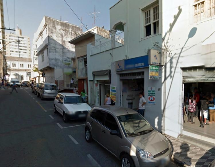 Casa lotérica foi assaltada por dupla armada