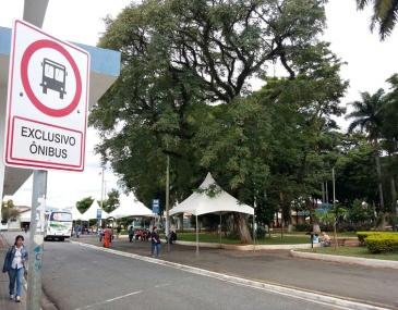 Prefeitura criou enquete em seu portal para saber a opinião da população sobre o Ponto Final. Você é a favor ou contra a continuação na Praça João Pinheiro?