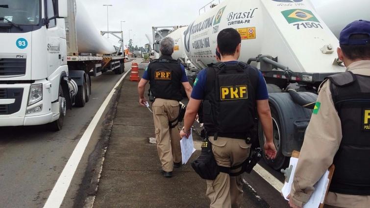 PRF  realizou operação Hercules. Foto: PRF