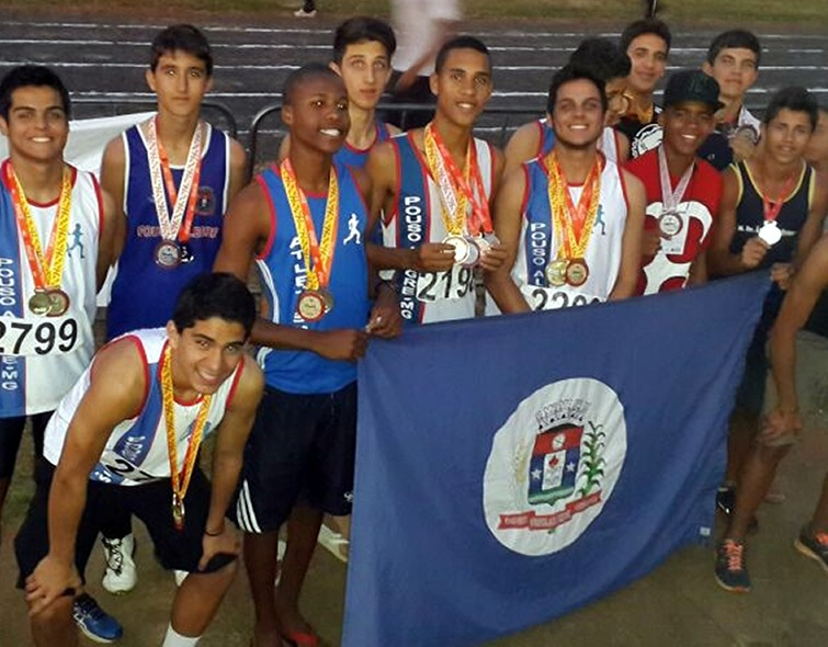 Alunos de Pouso Alegre conquistaram várias medalhas nos Jogos Estaduais de Minas Gerais. Foto: Reprodução Facebook