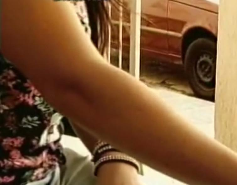 Vítima preferiu não se identificar. Imagem: reprodução TV Alterosa