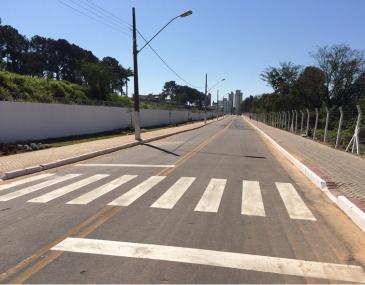 Via que liga o bairro Jardim Yara ao Centro da cidade será liberada para o tráfego de veículos nesta terça-feira (04).