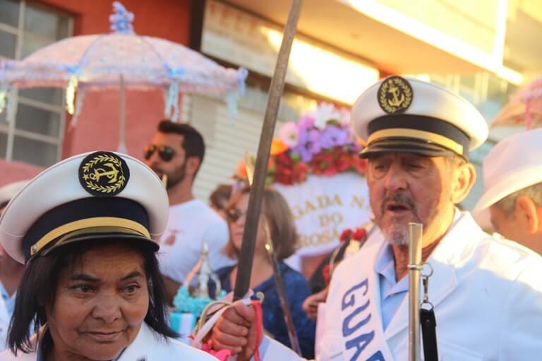 O cortejo será coordenado por representantes da guarda-coroa do Reinado com a participação das congadas da cidade: Nossa Senhora do Rosário e São Benedito. Foto: Ana Beraldo