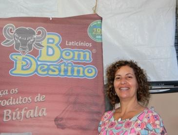 A coprodutora do evento Rogéria Aires apresenta Entradas com queijos de búfala e produtos artesanais no dia 29, às 18h .  Foto: Ana Beraldo