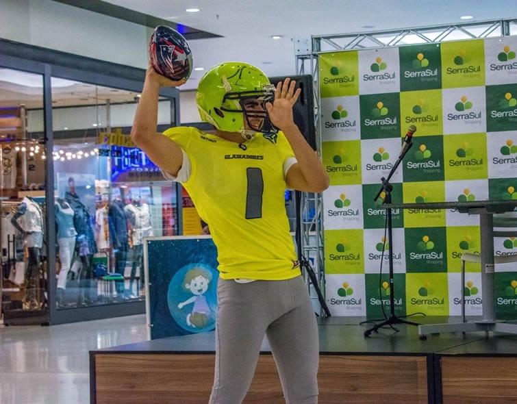 Gladiadores apresentam novo uniforme. Foto: Assessoria