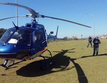 Ação batizada de 'Perímetro Seguro' já deteve 5 pessoas junto com drogas e produtos furtados.