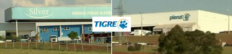 Tigre encerrará operação na unidade fabril de Pouso Alegre. Fotos: Reprodução Arquivo EPTV.