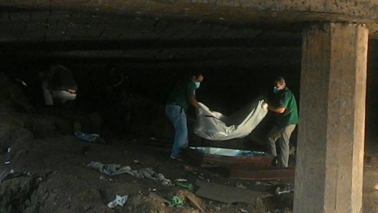 Corpo foi encontrado debaixo da ponte do Rio Mandu. Foto: Reprodução Facebook / Lucas Silveira