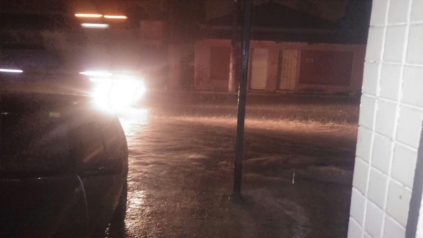 Avenida dr.João Beraldo..onde foi inaugurada as obras pluvial. Foto: Mirza Pavesi