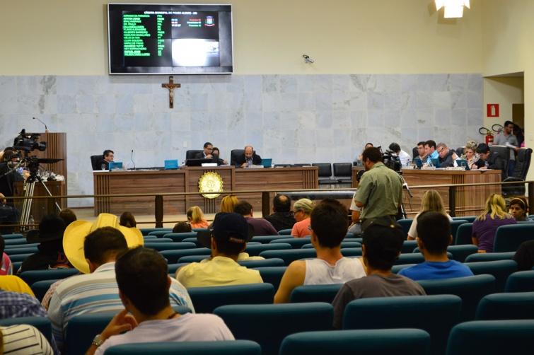 Câmara Municipal aprovou 102 proposições até agosto.