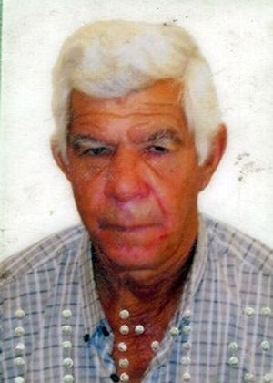 Expedito Lima, 69, desapareceu em 2009. Arquivo Pessoal.