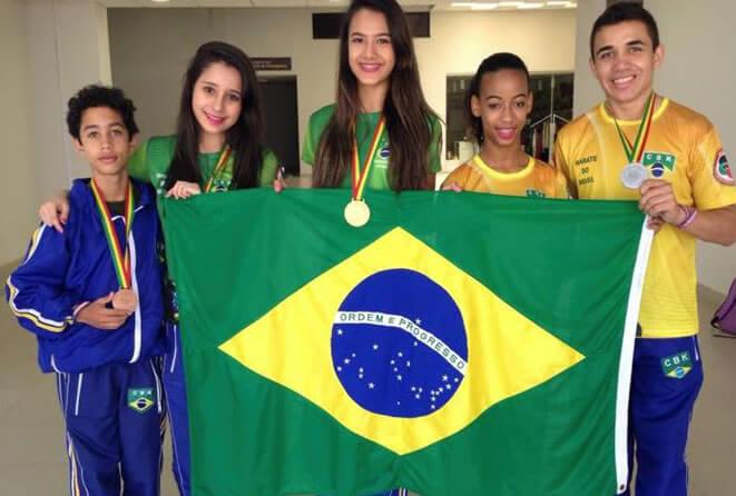 Outros atletas do Sul de Minas também se destacaram. Foto: Reprodução Facebook / Arquivo Pessoal