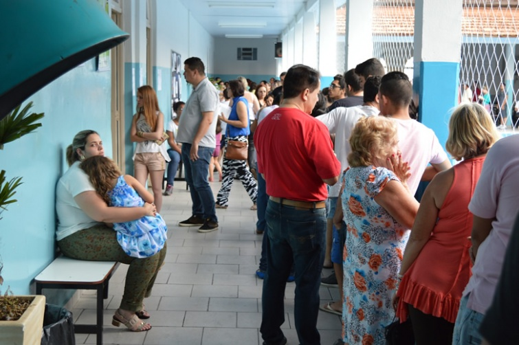 Mais de 4300 pessoas compareceram as urnas e participaram do processo de escolha. Foto: Assessoria de Comunicação Prefeitura de Pouso Alegre
