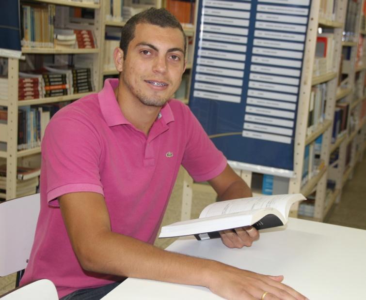 Gercino de Souza Santos Júnior, 2º período de Pedagogia