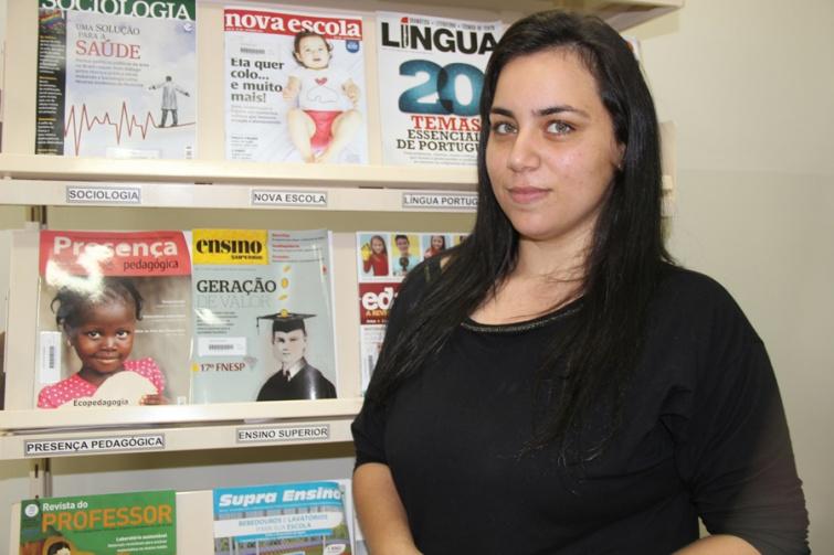 Marina Victor Machado de Souza, 4° período de Pedagogia