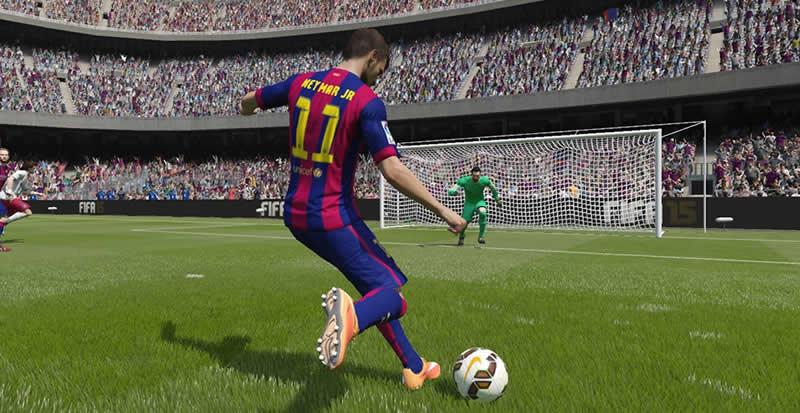 Jogadores poderão competir jogando com craques com Neymar.
