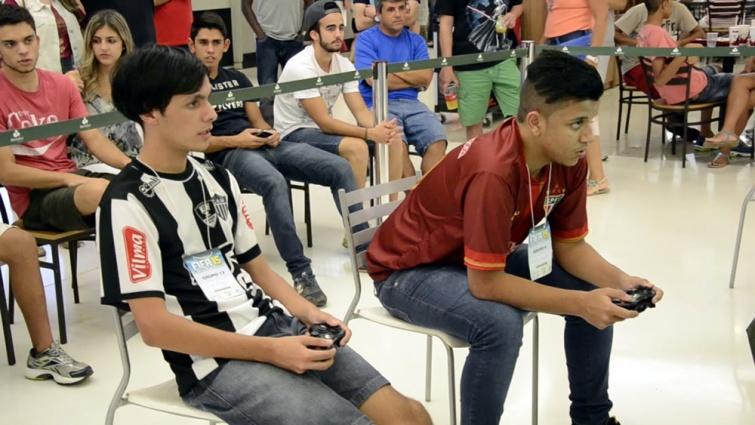 Victor e Pablo fizeram uma das semifinais.