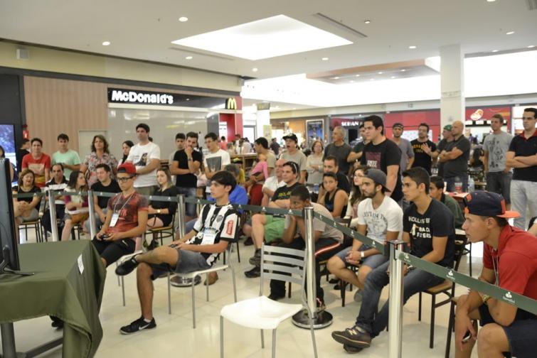 Torcida se reuniu para assistir as finais.