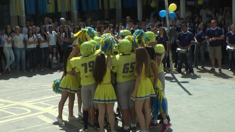 Projeto 'Gladiadores do Futuro' é lançado no Colégio Estadual. Foto: Ascom