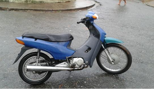 Motos haviam sido pintadas. Foto: Policia Militar