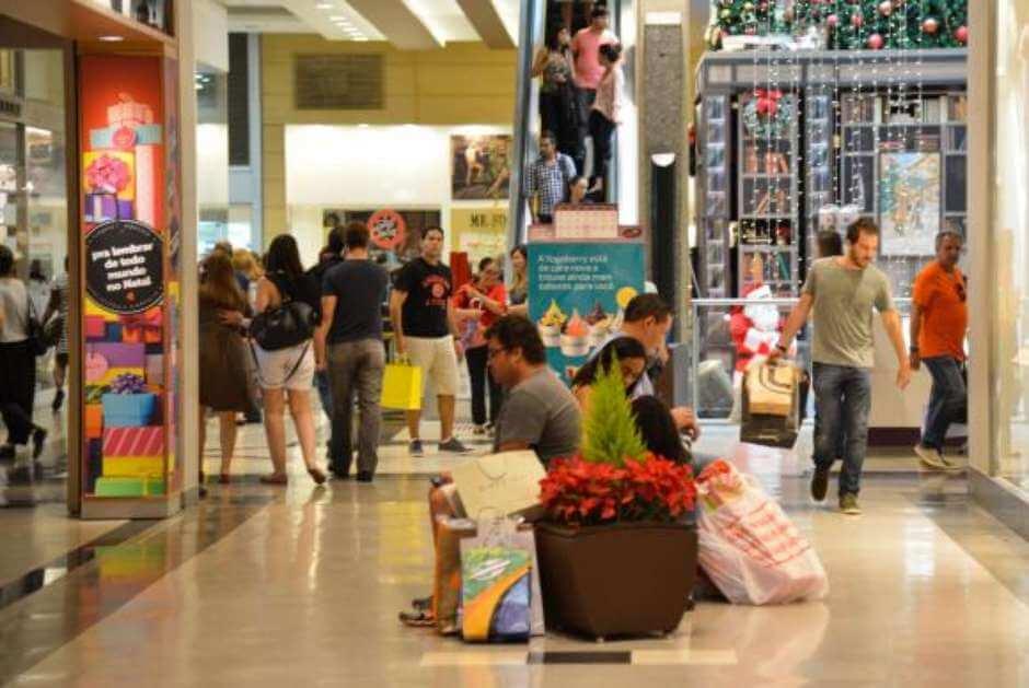 Segundo a Associação Brasileira de Lojistas de Shopping, é o maior recuo da última década. Foto: Agência Brasil