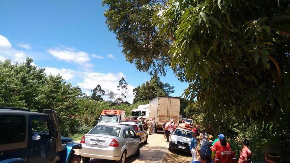 Acidente causou grande congestionamento na rodovia