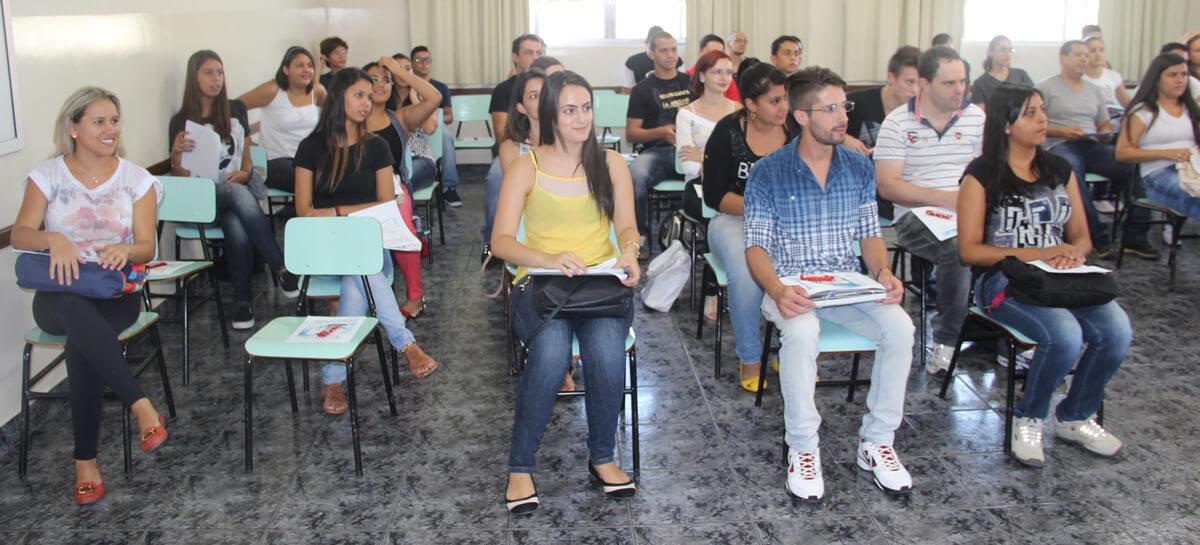 Calouros FAI 2015 . Foto: Divulgação
