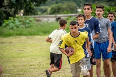 Seletiva dos gladiadores. Foto: Chiarini Jr.