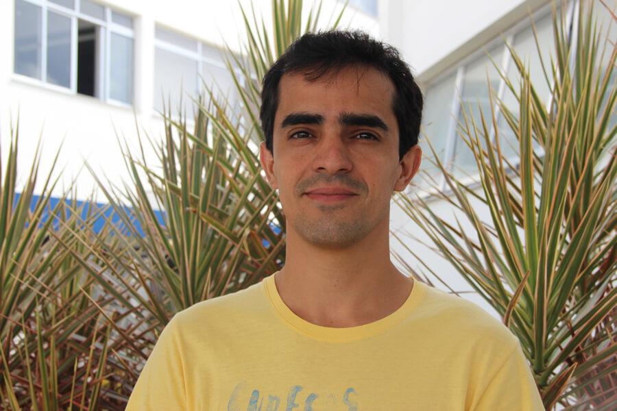 André Ribeiro Cláudio, aluno do curso de Gestão Estratégica de Marketing