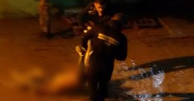 Corpo foi encontrado no Rio Mandu, na altura de um supermercado na Av. Perimetral.