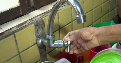 5 bairros estão a 2 dias sem água. Foto: Reprodução EPTV