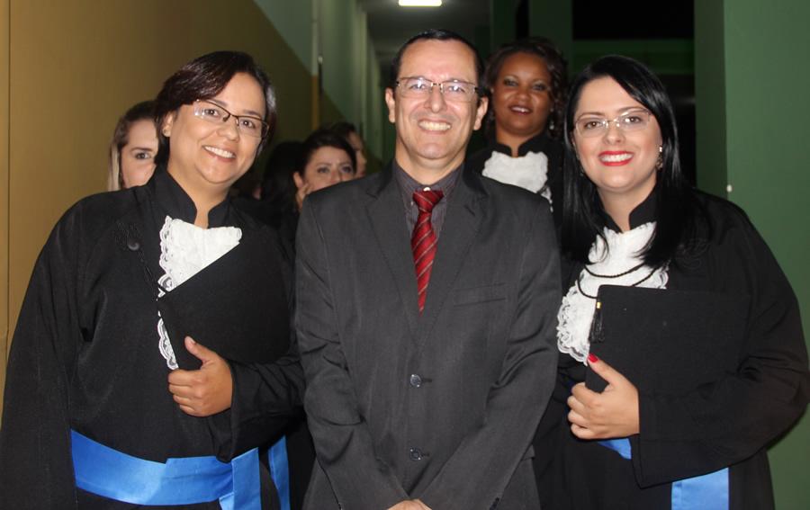 Prof. Vinicius A. Montgomery Miranda, paraninfo da turma de Administração .Foto: Ascom FAI
