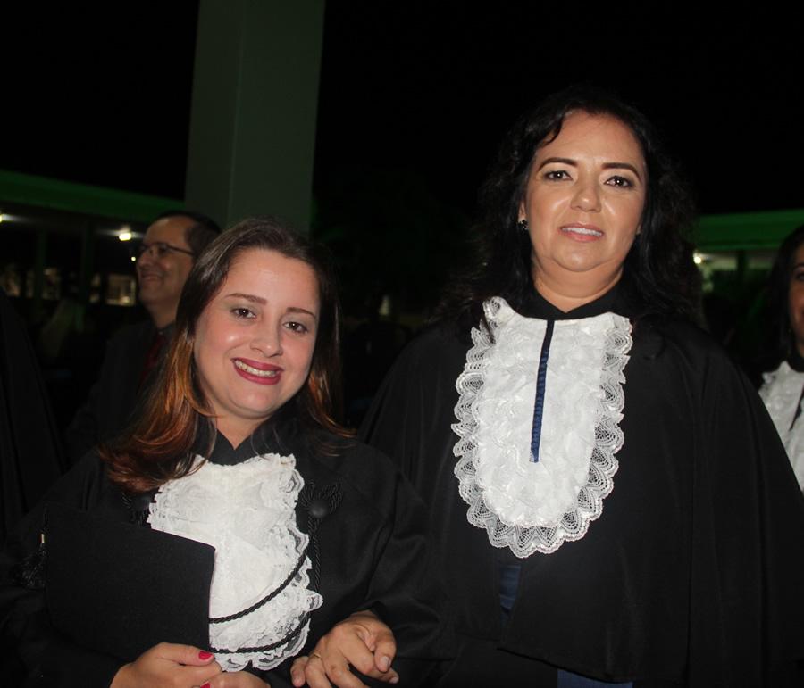 Profa. Francisca Santos Paduan Mendonça, patronesse da turma de Pedagogia .Foto: Ascom FAI