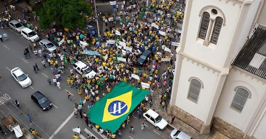 Concentração acontecerá em frente a Catedral Metropolitana. Foto: Arquivo