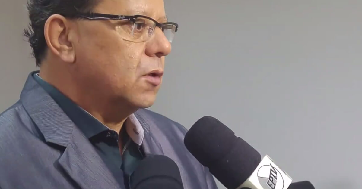 Em entrevista a emissoras, Perugini disse que vai enviar projeto de lei a câmara para regulamentar fiscalização do transporte público. Imagem: Reprodução PMPA