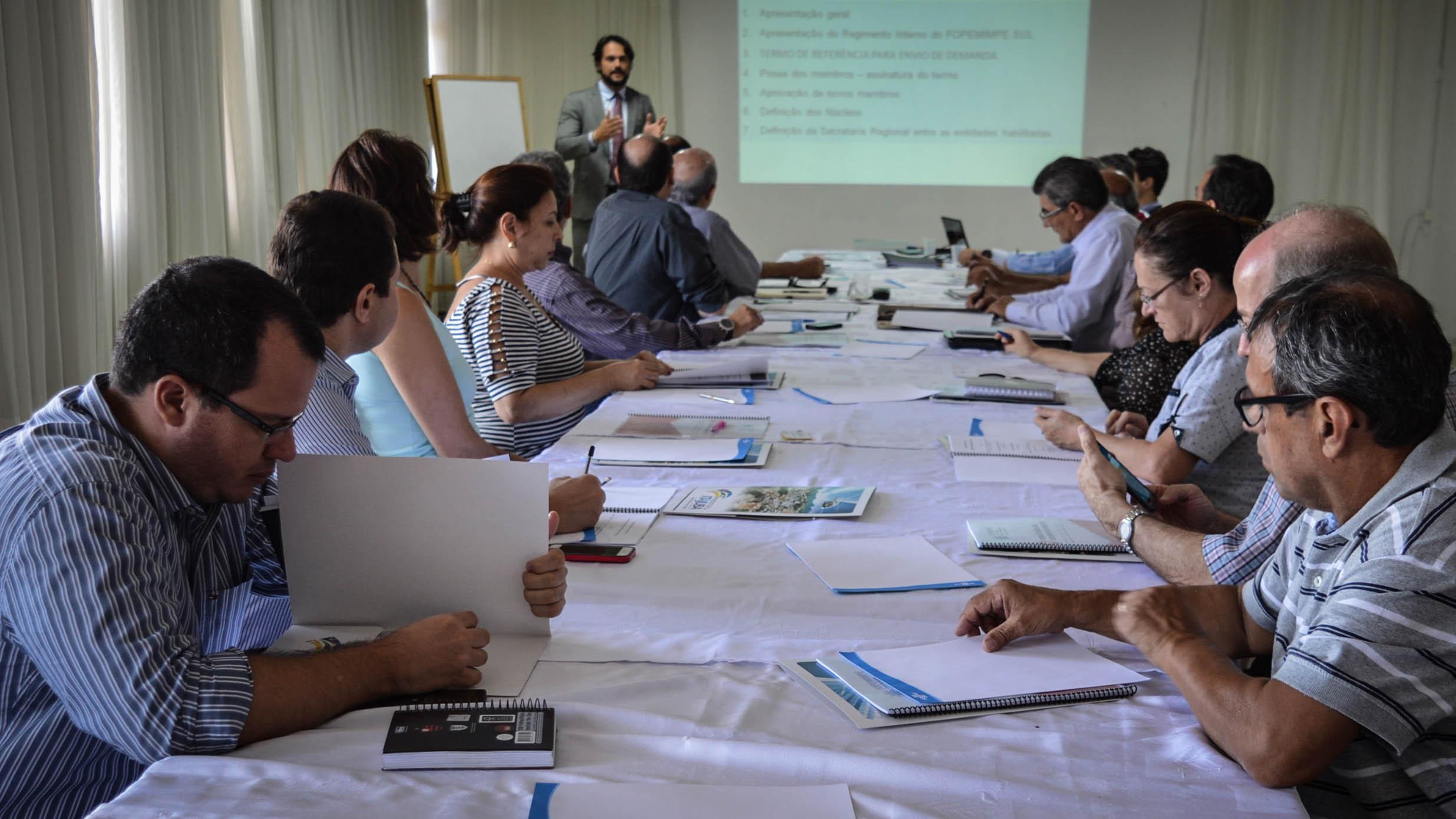 Reunião decidiu Sede dos Fóruns no Sul de Minas. Foto: Divulgação