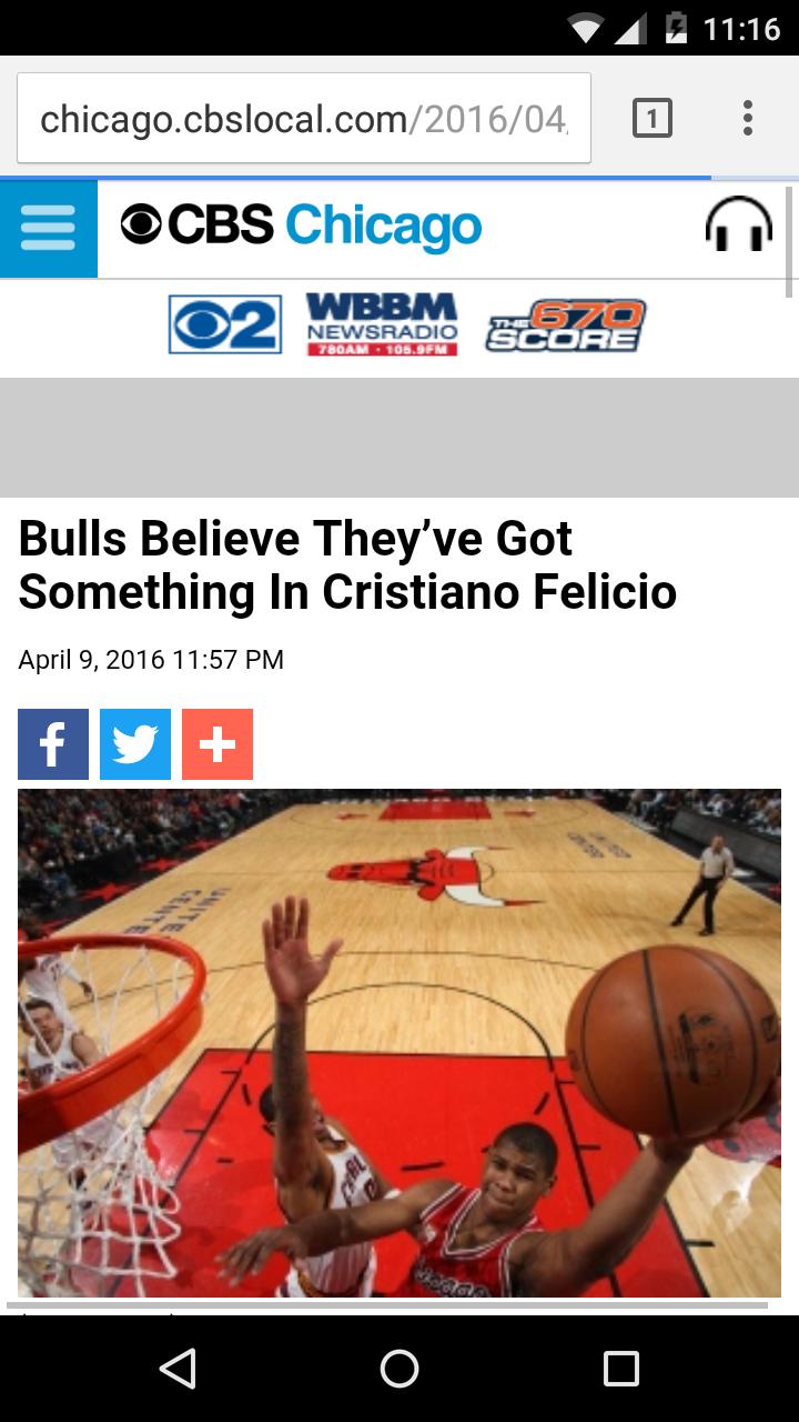Tradução: Bulls acredita que tem algo com Cristiano Felício