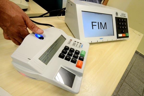 Voto por biometria é opcional em Pouso Alegre.