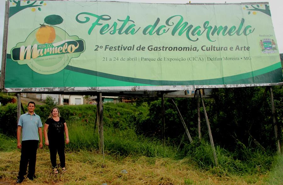 A secretária de Educação e Cultura, Edméia Alckmin e o diretor de Turismo, Alessandro de Oliveira, integram a comissão organizadora do evento.
