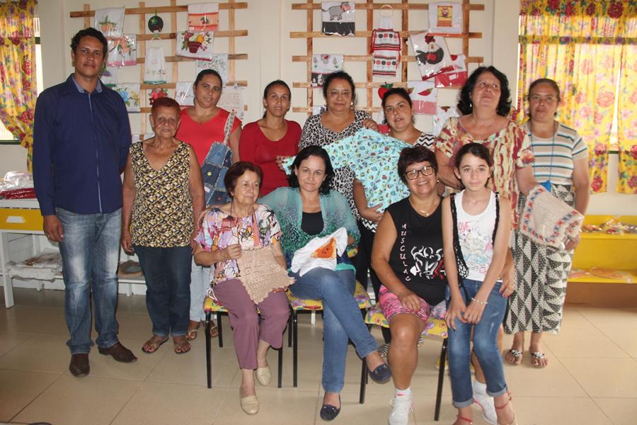 No evento, vários artesãos do município irão expor seus trabalhos.